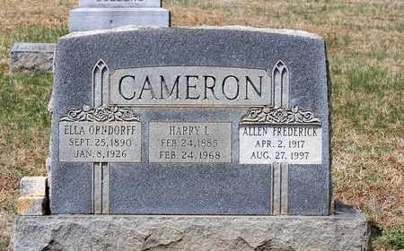 CAMERON, ELLA - Warren County, Virginia | ELLA CAMERON - Virginia Gravestone Photos