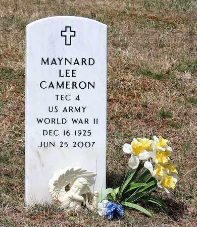 CAMERON, MAYNARD LEE - Warren County, Virginia | MAYNARD LEE CAMERON - Virginia Gravestone Photos