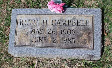 CAMPBELL, RUTH H. - Warren County, Virginia | RUTH H. CAMPBELL - Virginia Gravestone Photos