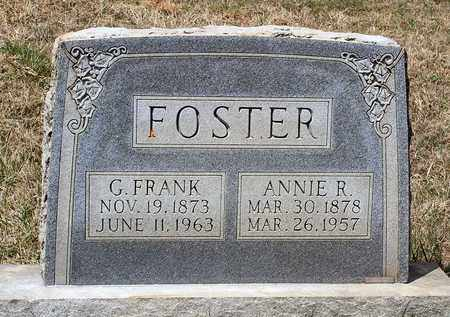 FOSTER, GUSTAVIS FRANK - Warren County, Virginia | GUSTAVIS FRANK FOSTER - Virginia Gravestone Photos