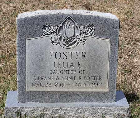 FOSTER, LELIA E. - Warren County, Virginia | LELIA E. FOSTER - Virginia Gravestone Photos