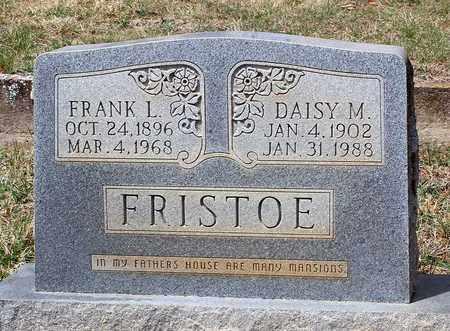 FRISTOE, DAISY M. - Warren County, Virginia | DAISY M. FRISTOE - Virginia Gravestone Photos