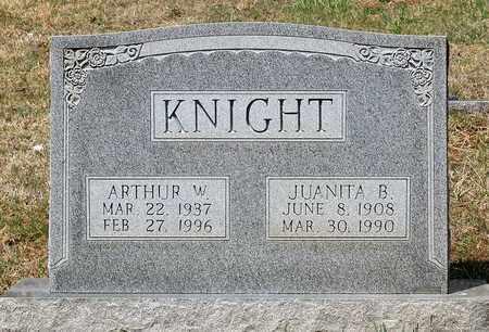 KNIGHT, JUANITA B. - Warren County, Virginia | JUANITA B. KNIGHT - Virginia Gravestone Photos