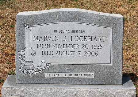 LOCKHART, MARVIN J. - Warren County, Virginia | MARVIN J. LOCKHART - Virginia Gravestone Photos