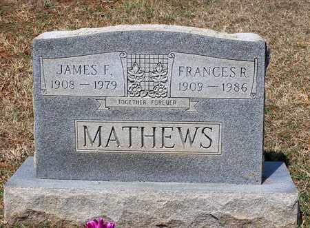 MATHEWS, JAMES F. - Warren County, Virginia | JAMES F. MATHEWS - Virginia Gravestone Photos