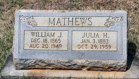 MATHEWS, WILLIAM J. - Warren County, Virginia | WILLIAM J. MATHEWS - Virginia Gravestone Photos