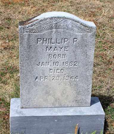 MAYE, PHILLIP P. - Warren County, Virginia | PHILLIP P. MAYE - Virginia Gravestone Photos