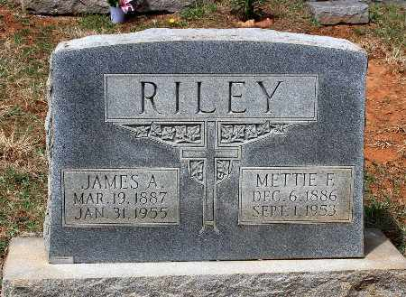 RILEY, METTIE F. - Warren County, Virginia | METTIE F. RILEY - Virginia Gravestone Photos