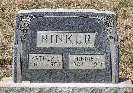 RINKER, MINNIE C. - Warren County, Virginia | MINNIE C. RINKER - Virginia Gravestone Photos