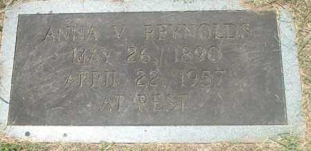 REYNOLDS, ANNIE VIRGINIA - Washington County, Virginia   ANNIE VIRGINIA REYNOLDS - Virginia Gravestone Photos