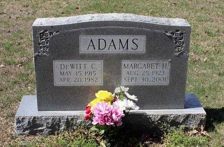 ADAMS, MARGARET H. - Westmoreland County, Virginia | MARGARET H. ADAMS - Virginia Gravestone Photos