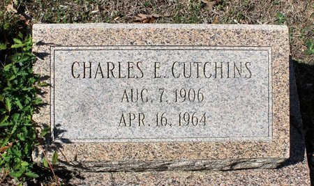 CUTCHINS, CHARLES E. - Westmoreland County, Virginia   CHARLES E. CUTCHINS - Virginia Gravestone Photos
