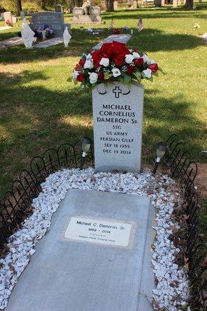 DAMERON, MICHAEL CORNELIUS - Westmoreland County, Virginia | MICHAEL CORNELIUS DAMERON - Virginia Gravestone Photos