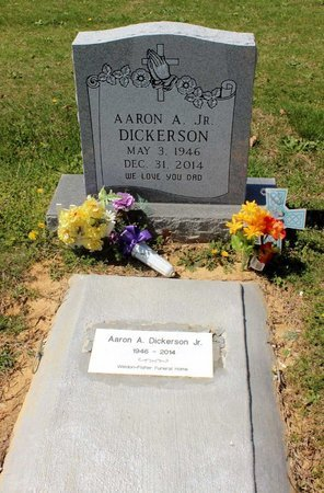 DICKERSON, AARON A. - Westmoreland County, Virginia | AARON A. DICKERSON - Virginia Gravestone Photos
