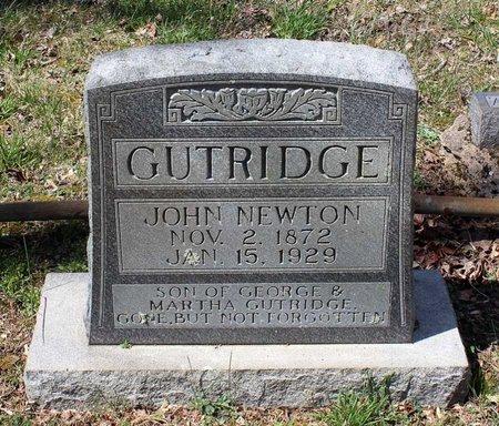 GUTRIDGE, JOHN NEWTON - Westmoreland County, Virginia | JOHN NEWTON GUTRIDGE - Virginia Gravestone Photos