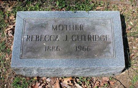 GUTRIDGE, REBECCA J. - Westmoreland County, Virginia | REBECCA J. GUTRIDGE - Virginia Gravestone Photos