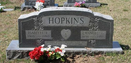 HOPKINS, ISABELLE E. - Westmoreland County, Virginia | ISABELLE E. HOPKINS - Virginia Gravestone Photos