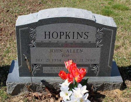 HOPKINS, JOHN ALLEN - Westmoreland County, Virginia | JOHN ALLEN HOPKINS - Virginia Gravestone Photos