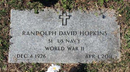 HOPKINS, RANDOLPH DAVIS - Westmoreland County, Virginia | RANDOLPH DAVIS HOPKINS - Virginia Gravestone Photos