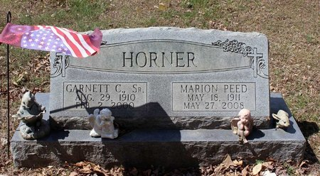 HORNER, GARNETT C. - Westmoreland County, Virginia | GARNETT C. HORNER - Virginia Gravestone Photos