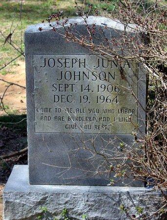 JOHNSON, JOSEPH JUNIA - Westmoreland County, Virginia   JOSEPH JUNIA JOHNSON - Virginia Gravestone Photos