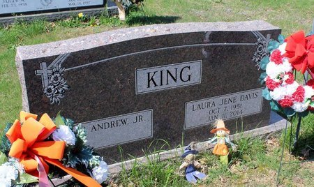 DAVIS KING, LAURA JENE - Westmoreland County, Virginia | LAURA JENE DAVIS KING - Virginia Gravestone Photos