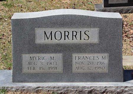 MORRIS, MYRIC M. - Westmoreland County, Virginia | MYRIC M. MORRIS - Virginia Gravestone Photos
