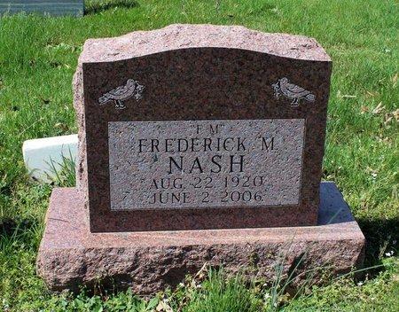 NASH, FREDERICK M. - Westmoreland County, Virginia   FREDERICK M. NASH - Virginia Gravestone Photos