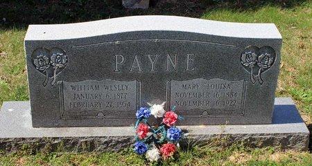 PAYNE, WILLIAM WESLEY - Westmoreland County, Virginia | WILLIAM WESLEY PAYNE - Virginia Gravestone Photos