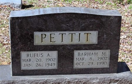 PETTIT, RUFUS A. - Westmoreland County, Virginia | RUFUS A. PETTIT - Virginia Gravestone Photos