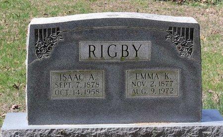 RIGBY, EMMA K. - Westmoreland County, Virginia | EMMA K. RIGBY - Virginia Gravestone Photos