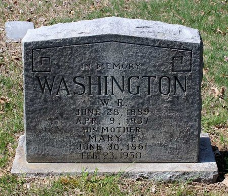 WASHINGTON, WILLIAM R. - Westmoreland County, Virginia | WILLIAM R. WASHINGTON - Virginia Gravestone Photos