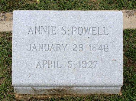 POWELL, ANNIE S. - Wythe County, Virginia | ANNIE S. POWELL - Virginia Gravestone Photos