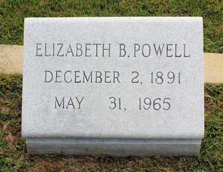 POWELL, ELIZABETH B. - Wythe County, Virginia | ELIZABETH B. POWELL - Virginia Gravestone Photos