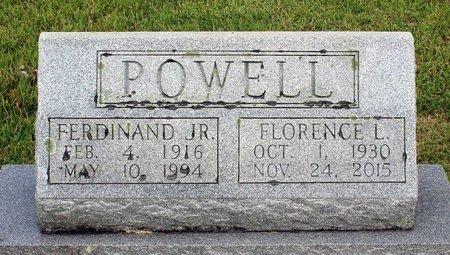 POWELL, FLORENCE L. - Wythe County, Virginia   FLORENCE L. POWELL - Virginia Gravestone Photos