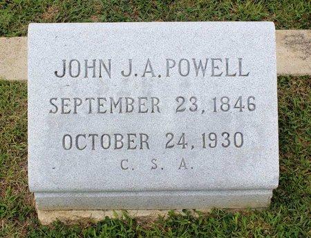 POWELL, JOHN J. A. - Wythe County, Virginia | JOHN J. A. POWELL - Virginia Gravestone Photos