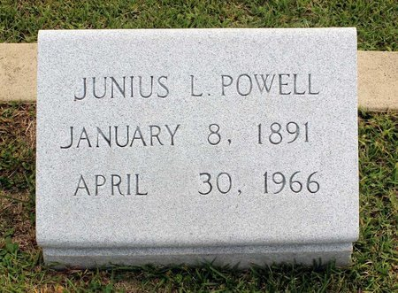 POWELL, JUNIUS L. - Wythe County, Virginia   JUNIUS L. POWELL - Virginia Gravestone Photos