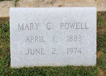 POWELL, MARY C. - Wythe County, Virginia | MARY C. POWELL - Virginia Gravestone Photos