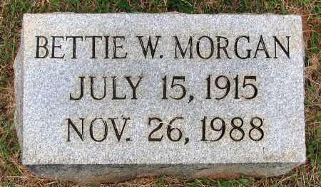 MORGAN, BETTIE W. - Bedford (City of) County, Virginia | BETTIE W. MORGAN - Virginia Gravestone Photos