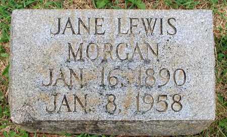 MORGAN, JANE - Bedford (City of) County, Virginia | JANE MORGAN - Virginia Gravestone Photos