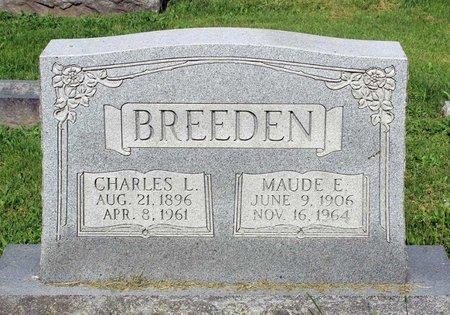 BREEDEN, MAUDE E. - Covington (City of) County, Virginia   MAUDE E. BREEDEN - Virginia Gravestone Photos