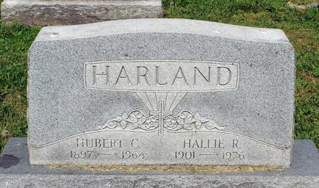 HARLAND, HUBERT C. - Covington (City of) County, Virginia | HUBERT C. HARLAND - Virginia Gravestone Photos