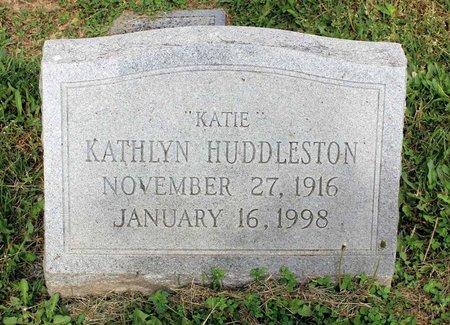 HUDDLESTON, KATHLYN - Covington (City of) County, Virginia | KATHLYN HUDDLESTON - Virginia Gravestone Photos