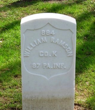 RAMSON (CW), WILLIAM - Danville (City of) County, Virginia | WILLIAM RAMSON (CW) - Virginia Gravestone Photos