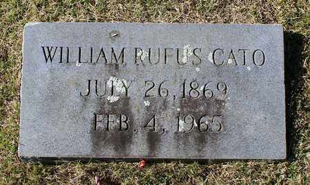 CATO, WILLIAM RUFUS - Emporia (City of) County, Virginia | WILLIAM RUFUS CATO - Virginia Gravestone Photos
