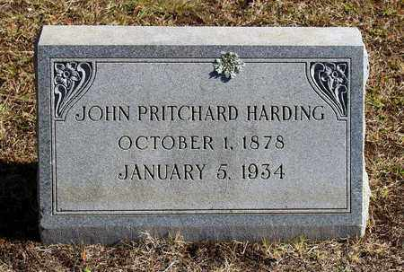 HARDING, JOHN PRITCHARD - Emporia (City of) County, Virginia | JOHN PRITCHARD HARDING - Virginia Gravestone Photos