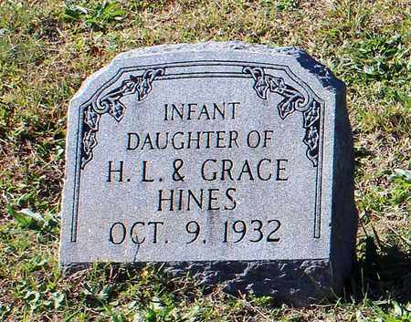 HINES, INFANT DAUGHTER - Emporia (City of) County, Virginia | INFANT DAUGHTER HINES - Virginia Gravestone Photos