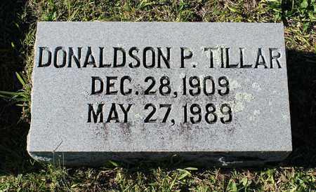 TILLAR, DONALDSON P. - Emporia (City of) County, Virginia | DONALDSON P. TILLAR - Virginia Gravestone Photos