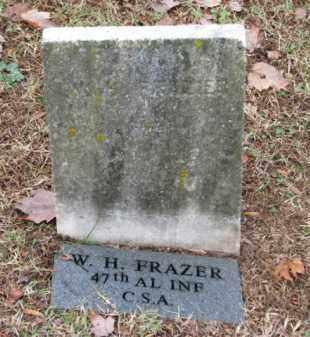 FRAZER (CW), W. H. - Fredericksburg (City of) County, Virginia | W. H. FRAZER (CW) - Virginia Gravestone Photos
