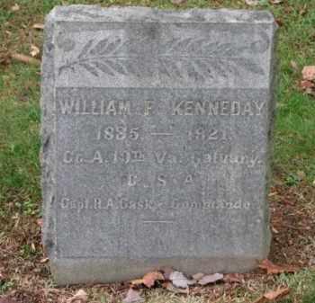 KENNEDAY (CW), WILLIAM F. - Fredericksburg (City of) County, Virginia | WILLIAM F. KENNEDAY (CW) - Virginia Gravestone Photos
